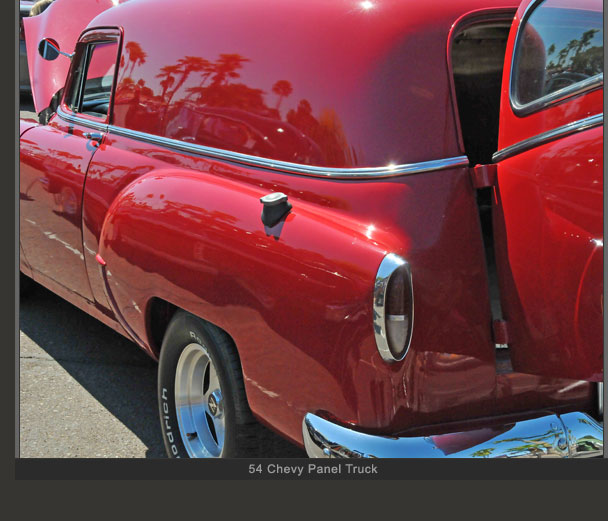 54 Chevy Panel Truck