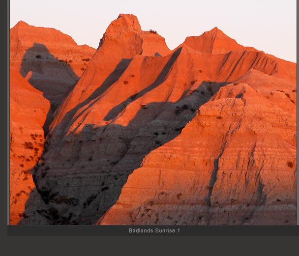 Badlands Sunrise 1
