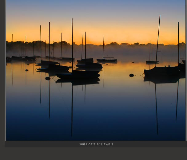 Sail Boats at Dawn 1