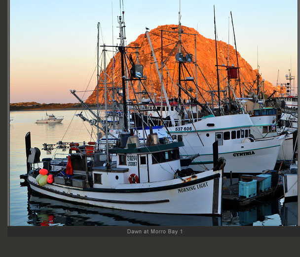 Dawn at Morro Bay 1