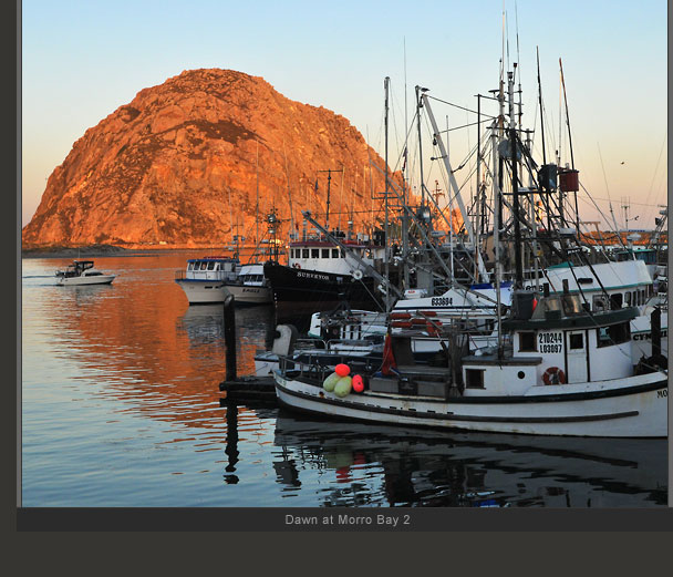 Dawn at Morro Bay 2